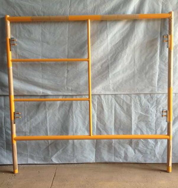 Portable Premium Scaffolding Metal Frames With C - Locks For House And Marine
