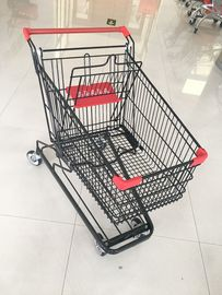 125 L Supermarket Shopping Trolley Dengan 4 Kastor Putar Rata, 941 X 562 X 1001mm